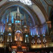 Stock Photo: View interior of the Notre-Dame Basilica