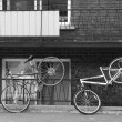 Royalty-Free Stock Photo: Two bicycles