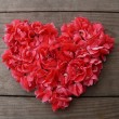Foto Stock: Heart flowers