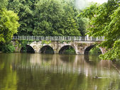 Belgium, Brugge, older bridge — Stock Photo
