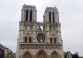 France, Paris, cathedral Mother of God — Stock Photo