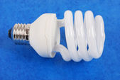 A compact fluorescent light bulb — Stock Photo