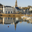 Binic in Brittany — Stock Photo