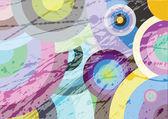 Multicolored circles — Stock Vector
