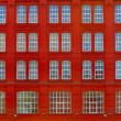 Red building - Stockfoto