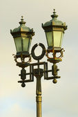 Old fashioned street lamp — Stock Photo