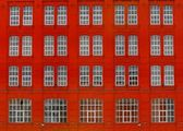 Red building — Stock Photo