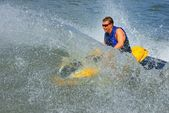 Powerful Jet ski in action — Stock Photo