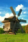 Old traditional windmil — Stock Photo