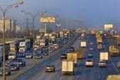 Heavy traffic — Stock Photo