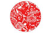 Chinese paper-cut art — Zdjęcie stockowe
