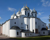 Saint Sophia Cathedral in Novgorod — Stock Photo