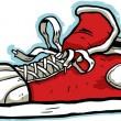 Royalty-Free Stock Imagem Vetorial: Cartoon Sneaker