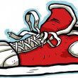 Royalty-Free Stock Imagen vectorial: Cartoon Sneaker