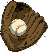 Baseball Glove — Stock Vector
