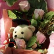 Teddy Bear Bouquet — Stock Photo