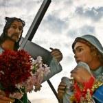 Jesus and Saint Veronica — Stock Photo