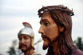 Julgamento de jesus cristo — Foto Stock