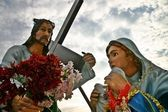 Jesus and Saint Veronica — 图库照片