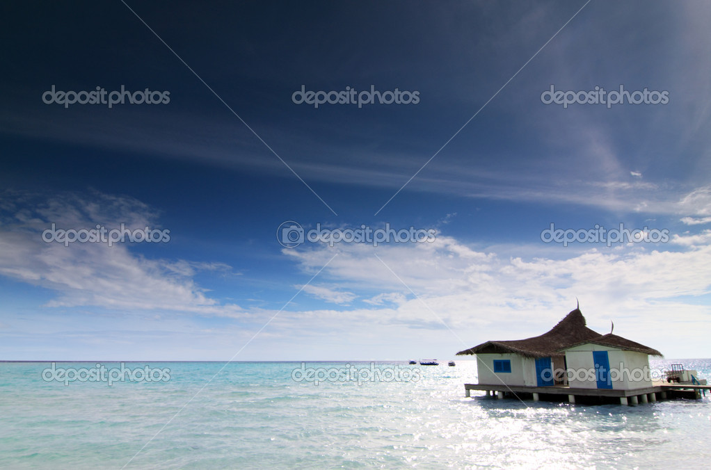 A home by the seaside/beach — Stock Photo #2178453