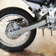 Motorcycle swingarm — Stock Photo