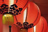 Lanternas chinesas — Foto Stock