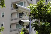Säkerhet kameran — Stockfoto