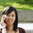 Woman on the phone — Stock Photo #2477790