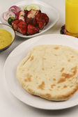 Cheese Naan — Stock Photo