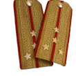 Stock Photo: 2 isolated epaulets