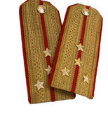 2 isolated epaulets — Stock Photo