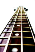 Neck of a bass guitar — Stock Photo