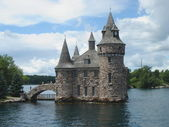 Boldt castle op lake ontario — Stockfoto
