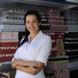 Portait of retail store owner — Stock Photo #2158719