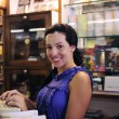 Stok fotoğraf: Owner of small business/ bookstore