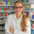 Female pharmacist at pharmacy — Stock Photo #2284670