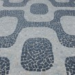 Background Sidewalk Rio de Janeiro - Stock Photo