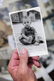 Remembering childhood — Stock Photo