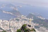 Christ Redeemer in Rio de Janeiro — Stock Photo