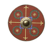 Roman legionary shield — Stock Photo