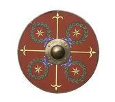 Roman legionary shield — Stock Photo