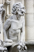 Notre-Dame Chimera — Stock Photo