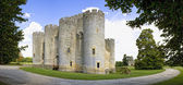 Chateau de Roquetaillade — Stock Photo