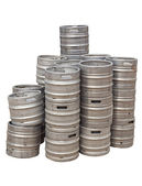 Beer kegs — Stock Photo