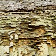 Very old brick wall - Stockfoto