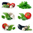 Vegetables group set - Foto de Stock