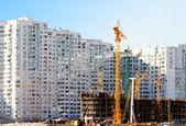 Buildings skyscraper in Kiev — Stock Photo