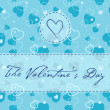 Valentine's card — Vetorial Stock