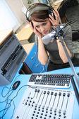 Live listening — Stock Photo