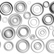 Stock Photo: Black circles